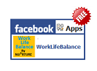 Work Life Balance Calculator and Monitor application for Facebook